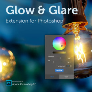 Glow & Glare extension for Photoshop
