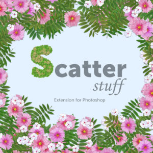 Scatter Stuff extension for Photoshop