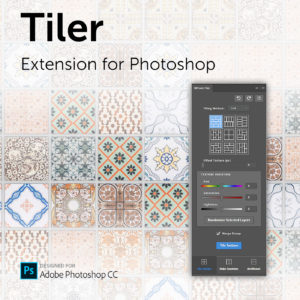 Tiler extension for Photoshop