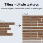 Tiler: Tiling multiple textures that have variable width